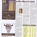 Sending Work Overseas Has Profits Rolling In for Syntel (Nov. 4, 2002)