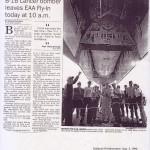 Its Mission: Drop Bombs - B-1B Lancer Leaving EAA