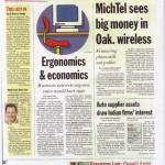 MichTel Sees Big Money in Oakland County Wireless (Nov. 7, 2005)